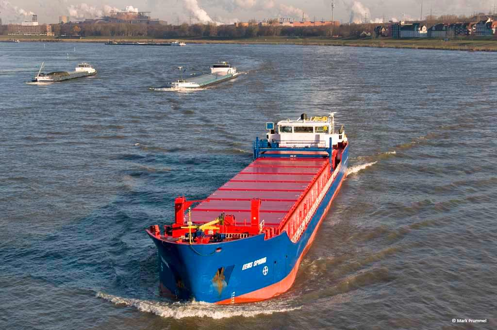 Eems Spring sea river shipping